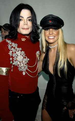Michael Jackson, Britney Spears