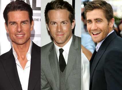 Tom Cruise, Ryan Reynolds, Jake Gyllenhaal