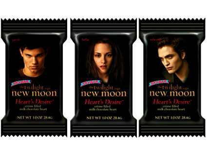 New Moon Heart's Desire Chocolate