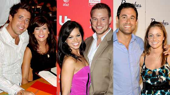 Jillian Harris, Ed Swiderski, Melissa Rycroft, Tye Strickland, Jason Mesnick, Molly Malaney