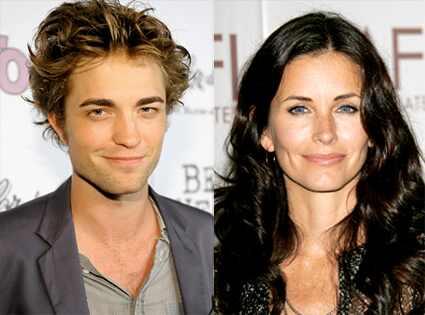 Robert Pattinson, Courtney Cox