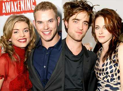 AnnaLynne Mccord, Kellan Lutz, Robert Pattinson, Kristen Stewart