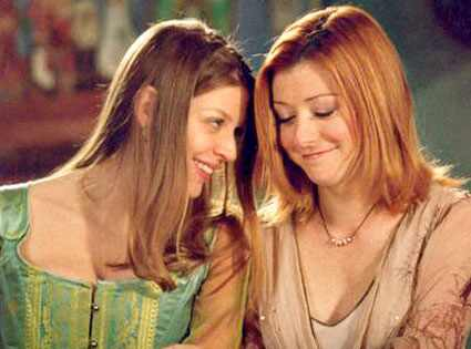 Buffy the Vampire Slayer, Alyson Hannigan, Amber Benson