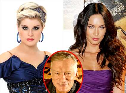 Kelly Osbourne, Megan Fox, Hugh Hefner