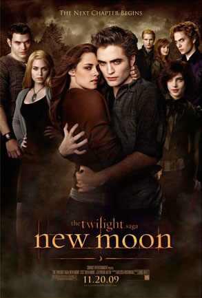 kristen stewart new moon poster. New Moon Poster, Cullens