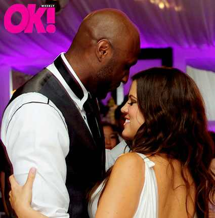 Khloe Kardashian Odom Lamar Odom Wedding OK Magazine Inside OK