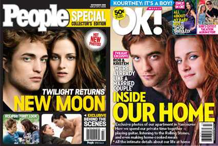 Robert Pattinson, Kristen Stewart, Ok Magazine, People Magazine People, OK!