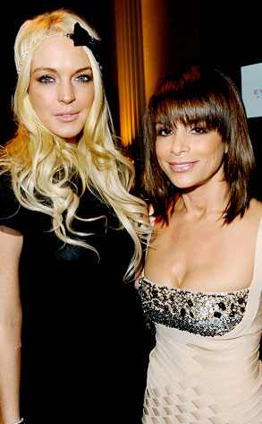 Lindsay Lohan, Paula Abdul