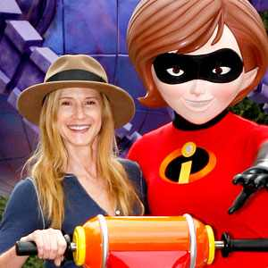 Image result for cartoon characters voices holly hunter in the incredibles