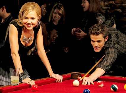 Vampire Diaries, Paul Wesley, Arielle Kebbel