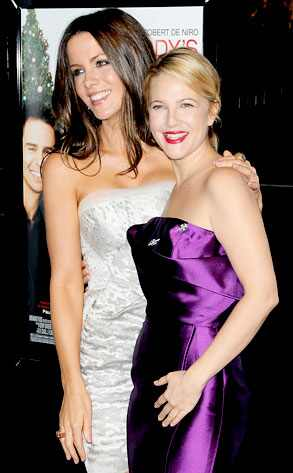 Kate Beckinsale, Drew Barrymore