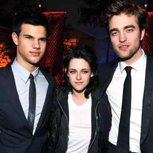Taylor Lautner, Robert Pattinson, Kristen Stewart