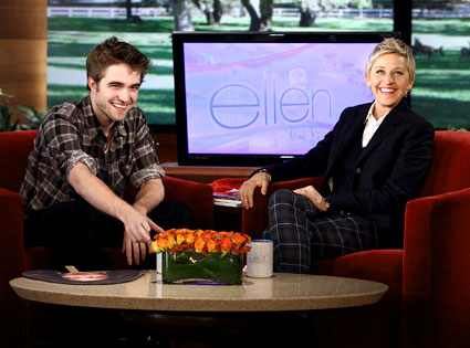 Robert Pattinson, Ellen DeGeneres