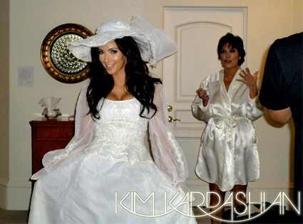kim kardashian costumes for wedding inspiration