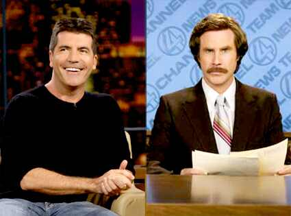 will ferrell anchorman. Simon Cowell, Will Ferrell,