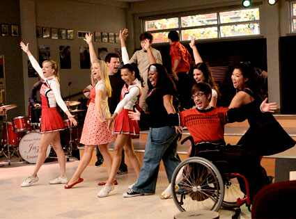 Today's Golden Globes TV nominations were not all about happy Glee songs and