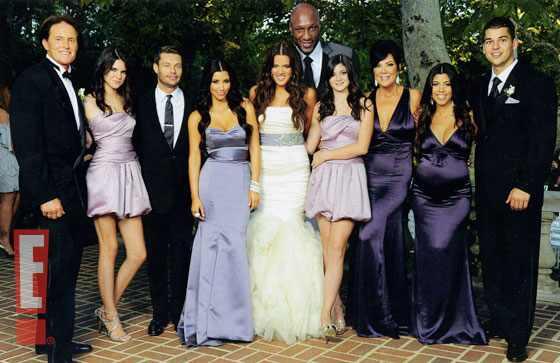 Bruce Jenner, Kylie Jenner, Ryan Seacrest, Kim Kardashian, Khloe Kardashian, Lamar Odom, Kendall Jenner, Kris Jenner, Kourtney Kardashian, Robert Kardashian