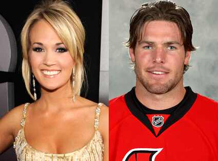 """I'm happy to confirm that Carrie Underwood is engaged to Mike Fisher,"