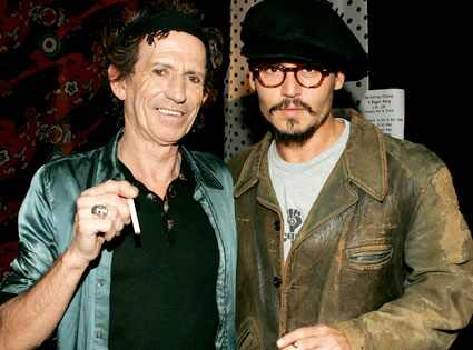Johnny Depp Rolling Stone. Keith Richards, Johnny Depp