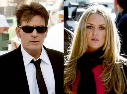 charlie sheen wife brooke mueller. Charlie Sheen, Brooke Mueller