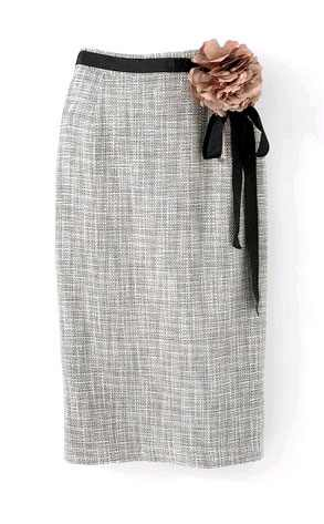 Newport News Tweed Skirt