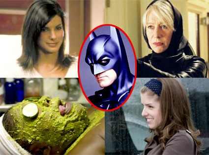 Sandra Bullock, Gun Shy, Helen Mirren, Shadowboxer, Mo'Nique, Phat  Girlz, Anna Kendrick, Twilight, George Clooney, Batman and Robin