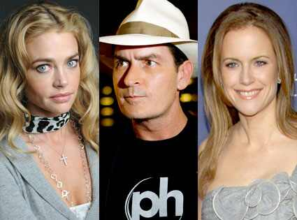 denise richards and charlie sheen relationship history
