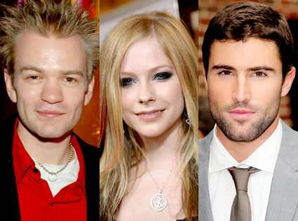 Avril Lavigne just can't make up her mind between Brody Jenner and her
