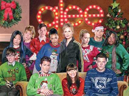 Glee julkort