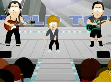 Justin Bieber, South Park Comedy Central. Oh my god! They killed Kenny