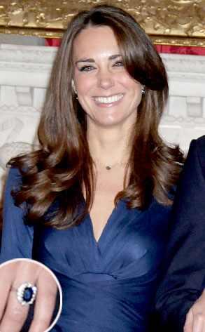 Kate Middleton, Ring