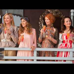 SATC 2, Sex and the City 2 Movie, Cynthia Nixon, Sarah Jessica Parker, Kim Cattrall, Kristin Davis