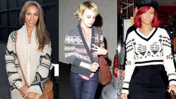 Leona Lewis, Carey Mulligan, Rihanna