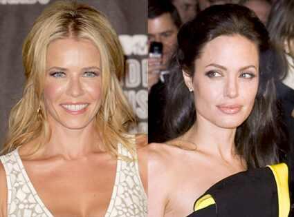 Chelsea Handler, Angelina Jolie
