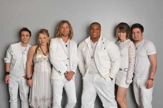 American Idol, Season 9, Aaron Kelly, Crystal Bowersox, Casey  James, Michael Lynche, Siobhan Magnus and Lee Dewyze