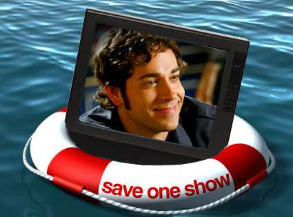 zach levi shirtless. Save One Show, Zachary Levi,