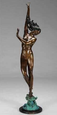 Anna Nicole Auction, Bronze Statue