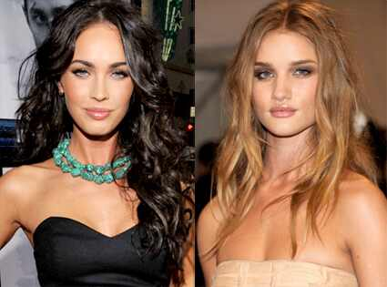 rosie huntington whiteley transformers. Megan Fox, Rosie Huntington-