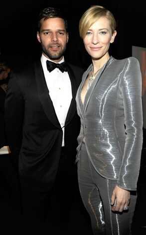 Ricky Martin, Cate Blanchett