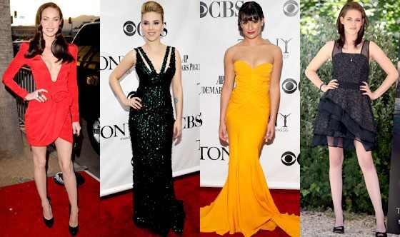 Megan Fox, Scarlett Johansson, Lea Michele, Kristen Stewart