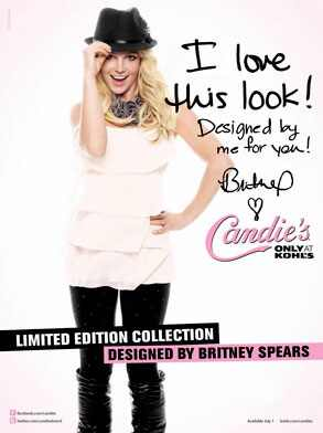 Britney Spears, Candie?s Clothing Line