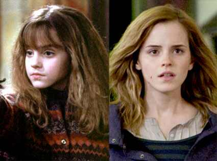 Emma Watson, Harry Potter, Sorcerer?s Stone, Deathly Hallows