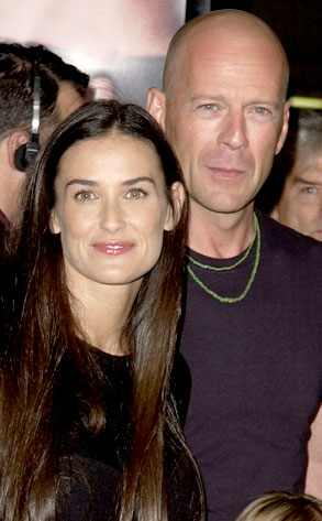 Demi Moore, Bruce Willis
