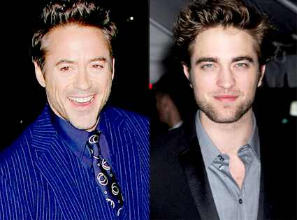 Robert Downey Jr., Robert Pattinson