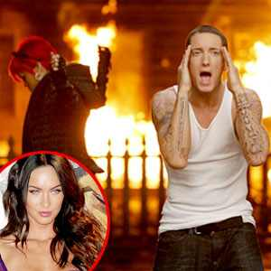 Eminem, Rihanna, Megan Fox