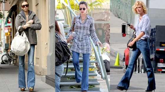 FASHIONS AND MODE: Bell-Bottom Jeans Are Ba-a-ack! | Hollywood yohana