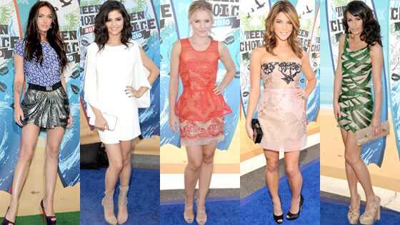 Megan Fox, Selena Gomez, Kristen Bell, Ashley Greene, Lea Michele
