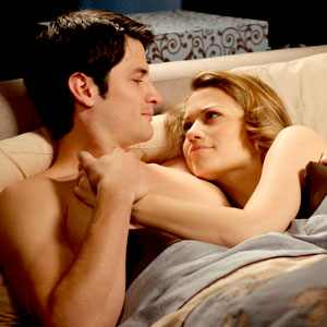 One Tree Hill, James Lafferty, Bethany Joy Galeotti