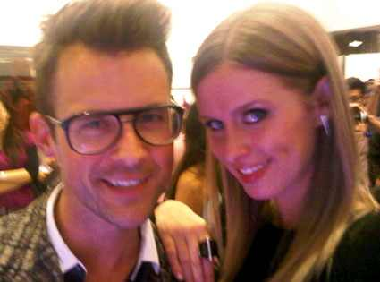 Brad Goreski, Nicky Hilton, Twitter, Twitpic