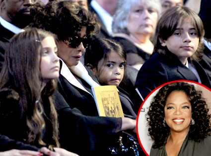 Paris, Blanket, Prince Michael, Katherine Jackson, Oprah Winfrey